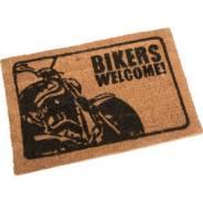 Коврик входной двери *Bikers Welcome* (Байкеры, добро пожаловать)