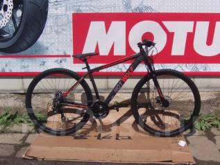 Велосипед Hot Wolf Черно-красный; Дисковые Тормоза