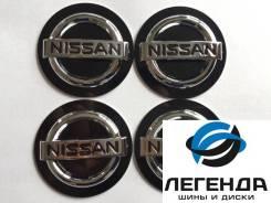 Наклейки на центральный колпачок литых дисков Nissan