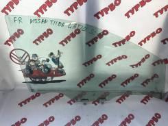 Стекло боковое. Nissan Tiida, JC11, NC11, C11 Nissan Tiida Latio, SNC11, SZC11, SJC11, SC11 Двигатели: HR16DE, HR15DE, K9K, MR18DE