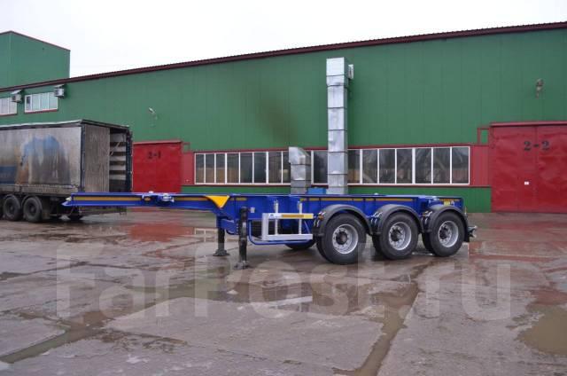 Steelbear. Полуприцеп-контейнеровоз PK-24P-2. Под заказ