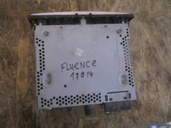 Магнитола. Renault Fluence, L30T, L30R Двигатели: M4R, K4M