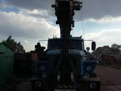 Юрмаш Юргинец КС-55722-1. Продам авто кран Урал 2007 год., 25 000 кг., 20 м.