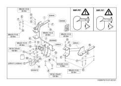 Фаркопы. Toyota Land Cruiser Lexus GX460, URJ150 Двигатель 1URFE