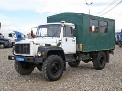 ГАЗ-33081. - вахтовка 2005г. в., 4 700 куб. см., 17 мест