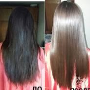 Кератин и ботокс восстановление волос