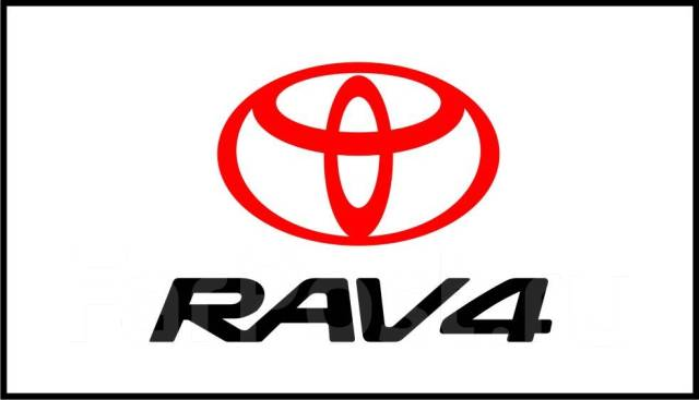 Табличка. Toyota RAV4