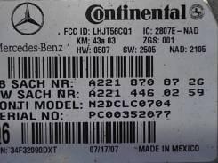 Блок управления телефоном Mercedes ML W164 2005-2011
