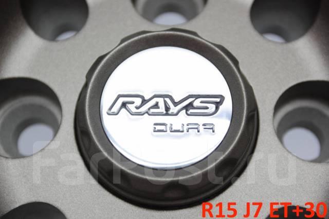 "RAYS VOLK RACING TE037 Dura. 7.0x15"", 4x100.00, 4x114.30, ET30, ЦО 73,1мм."