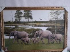 Картина Слоны. Оригинал