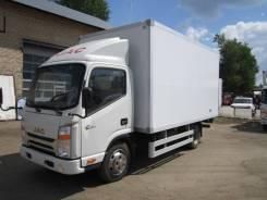 JAC N56. JAC (Джак) N-56 Среднетоннажный грузовой авт, промтоварный фургон, 2 771 куб. см., 3 445 кг.