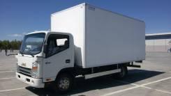 JAC N75. JAC (Джак) N75 Грузовой изотермический автомобиль, 3 760 куб. см., 4 670 кг.