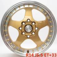 Rotiform. 5.5x14, 4x100.00, 4x114.30, ET33, ЦО 73,1мм.