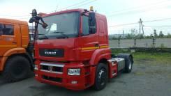 Камаз 5490. Седельный тягач с кабиной и двигателем Mercedes, 12 000 куб. см., 40 000 кг.