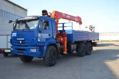 Kanglim KS1256G-II. Кран манипулятор Камаз 43118-46 + KS1256G-II, 300 куб. см., 6 500 кг., 18 м.