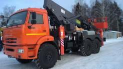 Hansin HS 4070. Автогидроподъемник, автовышка Нansin HS4070, 40 м.