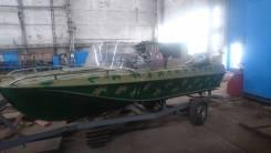 Казанка-5М2. длина 4,90м., двигатель подвесной, 60,00л.с., бензин