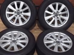 №2301 225/65R17 Bridgestone + Mazda Оригинал [Hakolecax]. 7.0x17 5x114.30 ET50 ЦО 67,1мм.