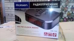 Радио часы rolsen cr110