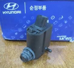 Мотор бачка омывателя. Kia Mohave Kia Rio Kia Sorento Hyundai: Santa Fe, Solaris, i40, i30, i20
