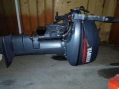 Yamaha. 15,00л.с., 2х тактный, бензин, нога L (508 мм), Год: 2009 год