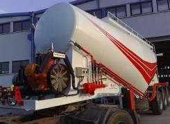 ADR Trailers. Вакуумные цементовозы ADR-PLSB 25-38 м?, 38,00куб. м. Под заказ