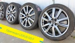 245-40-19, одноширы Lexus GS F-sport, в наличии. 8.0x19 5x114.30 ET45 ЦО 60,1мм.