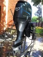 Yamaha. 50,00л.с., 4х тактный, бензин, нога L (508 мм), Год: 2004 год