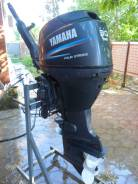 Yamaha. 30,00л.с., 4х тактный, бензин, нога L (508 мм), Год: 2009 год