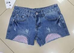 Шорты джинсовые. 40, 42, 44, 46, 48