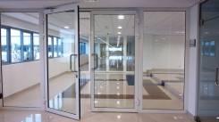 Изготовление и монтаж алюминиевых окон, дверей, перегородок, витражей.