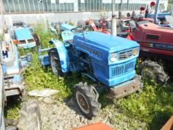 Hinomoto E14. Трактор 14л. с., 4wd, ВОМ, фреза