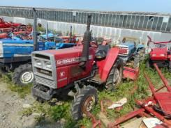 Shibaura. Трактор 18л. с., 4wd, ВОМ, навеска на 3 точки, фреза