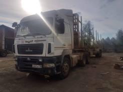МАЗ. Полуприцеп-сортиментовоз , 11 946 куб. см., 32 900 кг.