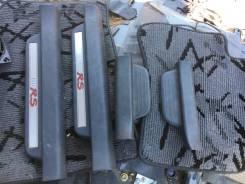 Порог пластиковый. Toyota Vitz, NCP131, NCP10, NCP13