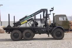 Камаз 4310. Продается лесовоз КамАз 4310 (с хранения) с гидроманипулятором в Кавал, 11 000 куб. см., 8 000 кг.