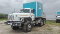 Урал 4320. 6614В2-10 (Фургон специальный с КМУ) шасси УРАЛ 4320-1151-61, 12 000 куб. см., 1 000 кг., 3 м.