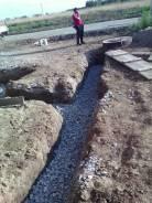 Осушение участка и фундамента