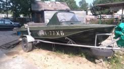 Казанка-М. Год: 1987 год, длина 4,70м., двигатель подвесной, 40,00л.с., бензин