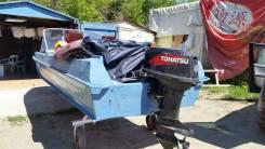 Tohatsu. 40,00л.с., 2х тактный, бензин, нога S (381 мм), Год: 2008 год