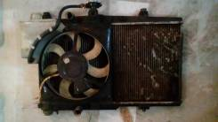 Радиатор охлаждения двигателя. Geely MK Geely MK Cross Двигатель 5AFE