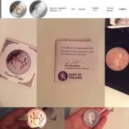 Серебряная монета Фиджи