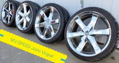 245-35-20, M'z Speed juno vogue, в наличии. 8.5x20 5x112.00, 5x114.30 ET40 ЦО 73,1 мм.