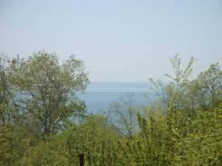 10 соток с видом на море. 1 000 кв.м., собственность, электричество, вода, от агентства недвижимости (посредник)