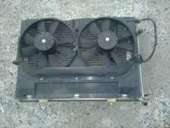 Вентилятор радиатора кондиционера. Mercedes-Benz C-Class, W202
