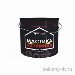 Чёрная битумная мастика краска для бетона купить в красноярске