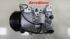 Компрессор кондиционера. Lexus: IS350, GS350, GS300, IS300, IS350C, IS220d, GS300 / 430 / 460 Двигатели: 3GRFSE, 3GRFE