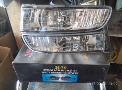 Фара противотуманная. Toyota Hiace Regius, KCH40G, KCH40W Двигатель 1KZTE
