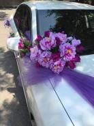 Украшение для свадебного авто.