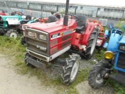Shibaura. Трактор 21 л. с., 4wd, ВОМ, фреза